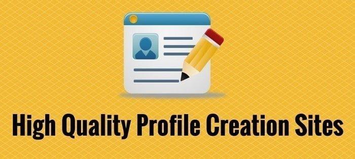 Danh sách profile làm seo