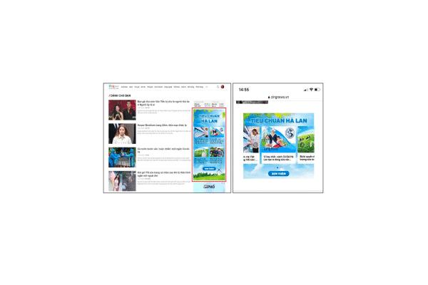 Giá quảng cáo banner hình ảnh trên Zing News
